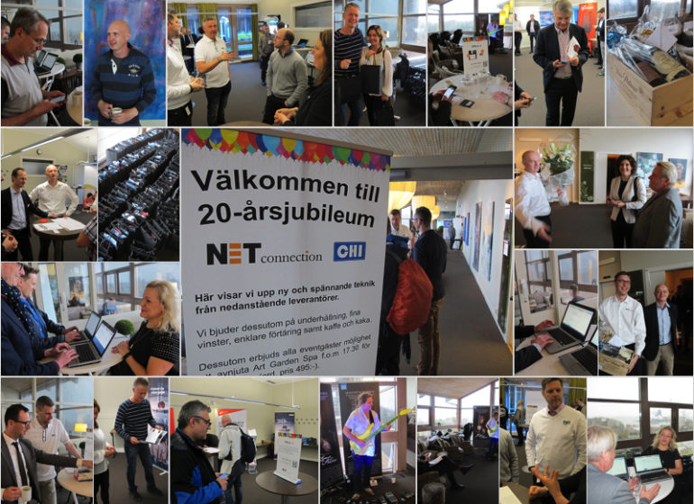 20 års jubileum på NETconnection